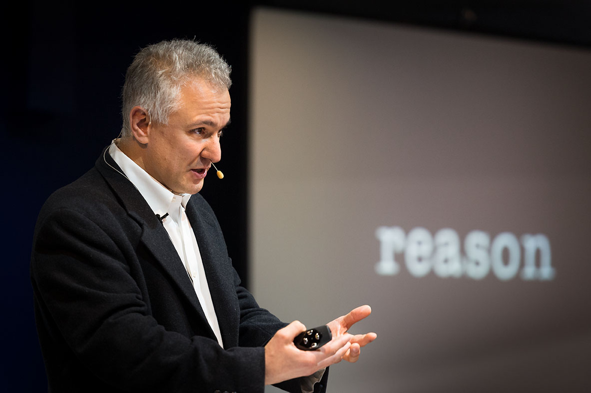 "Peter Boghossian in Australia during his ""How do you know?"" tour"