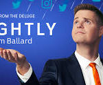 "Promotional image of 'Tonightly"" with Tom Ballard"